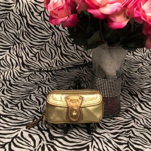 Coach small jewelry/wallet pouch